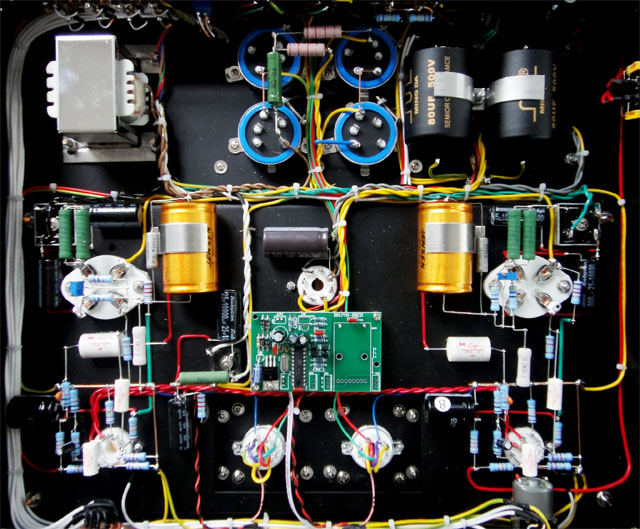 mc-2a3前置音频放大器